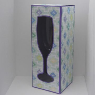 Champagne Glass Box Template 230mm tall